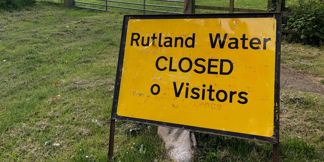 Rutland Water Closed