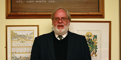 Council Leader Tony Mathias