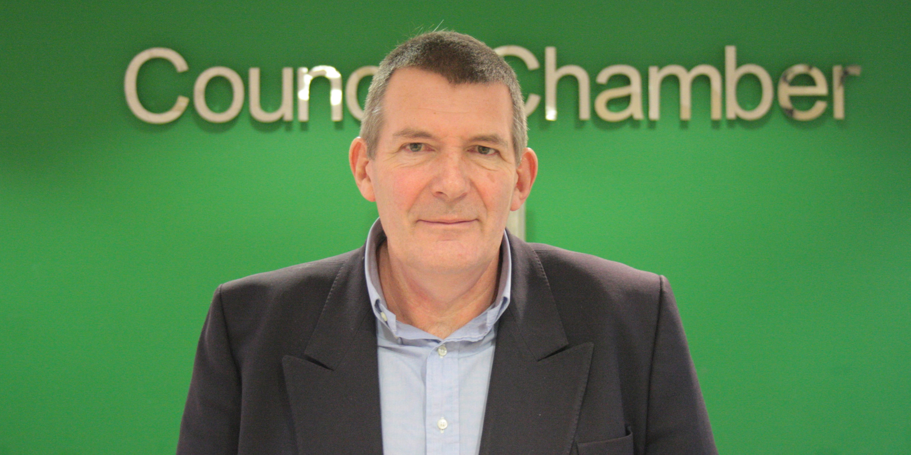Council Leader Oliver Hemsley
