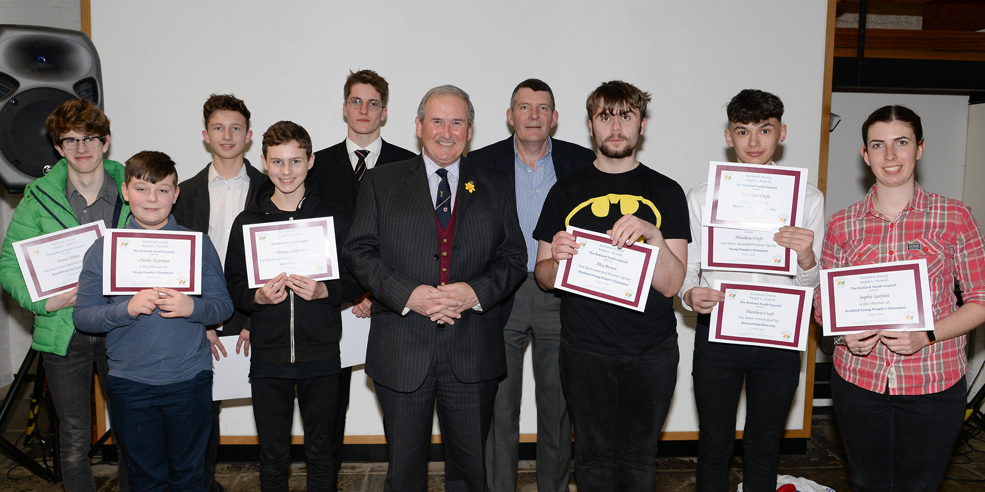 Winners of RYP Awards 2018