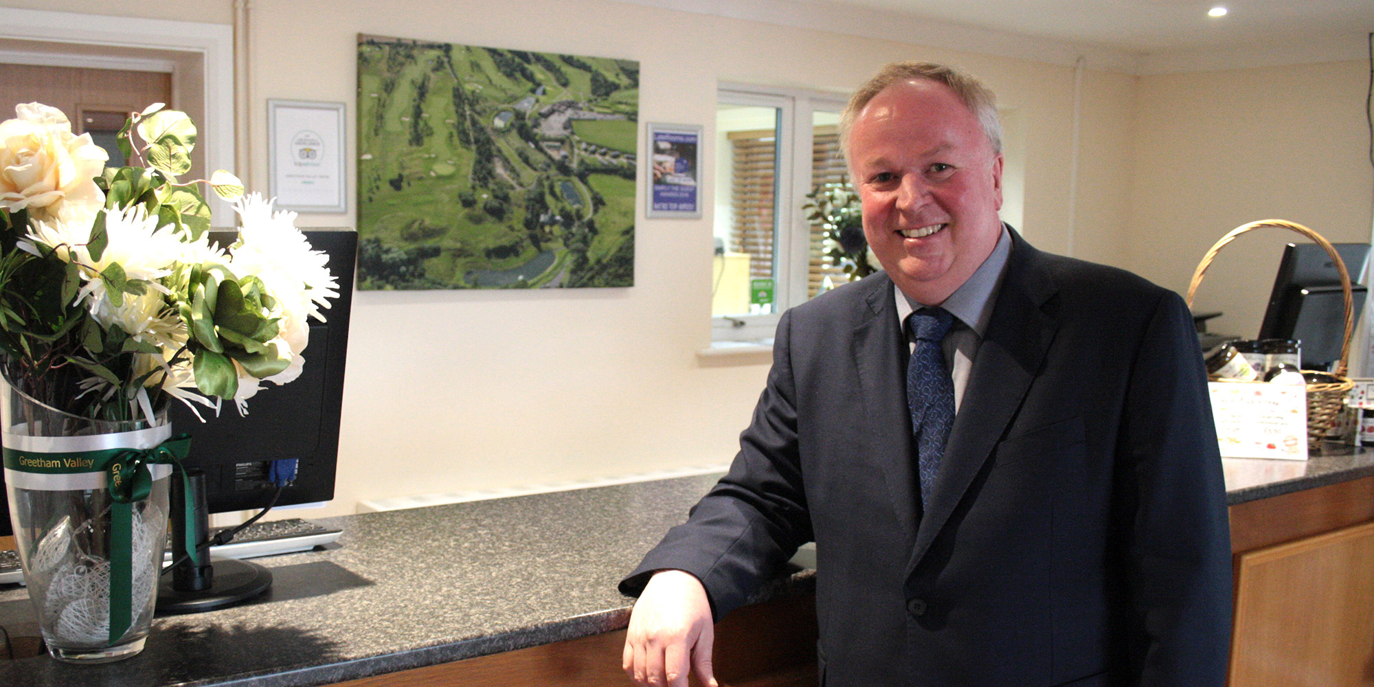 Sean Clarke, General Manager at Greetham Valley