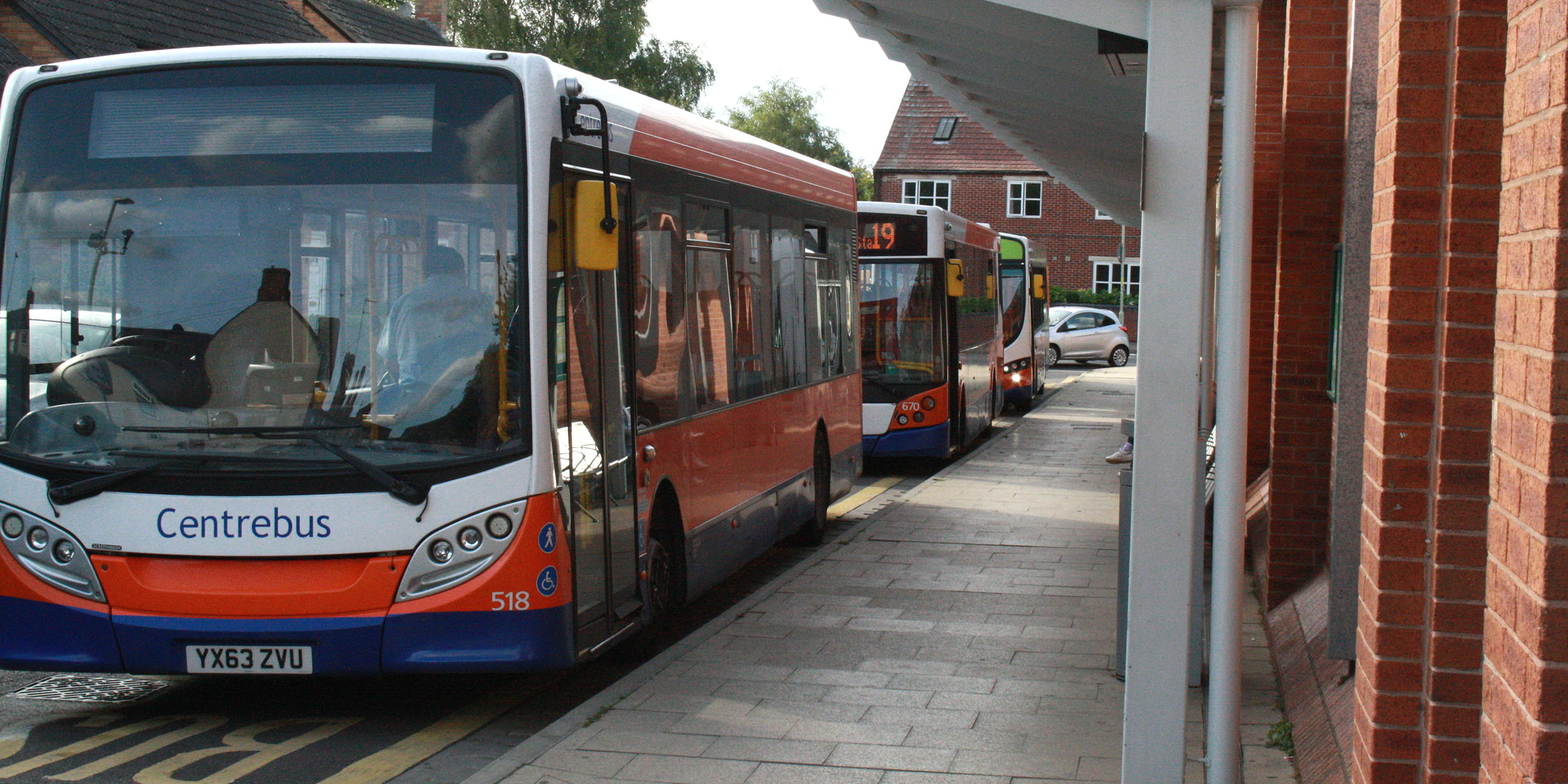 Oakham Bus Station