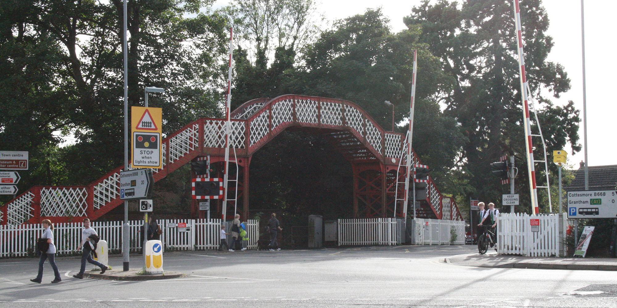 Oakham Level Crossing
