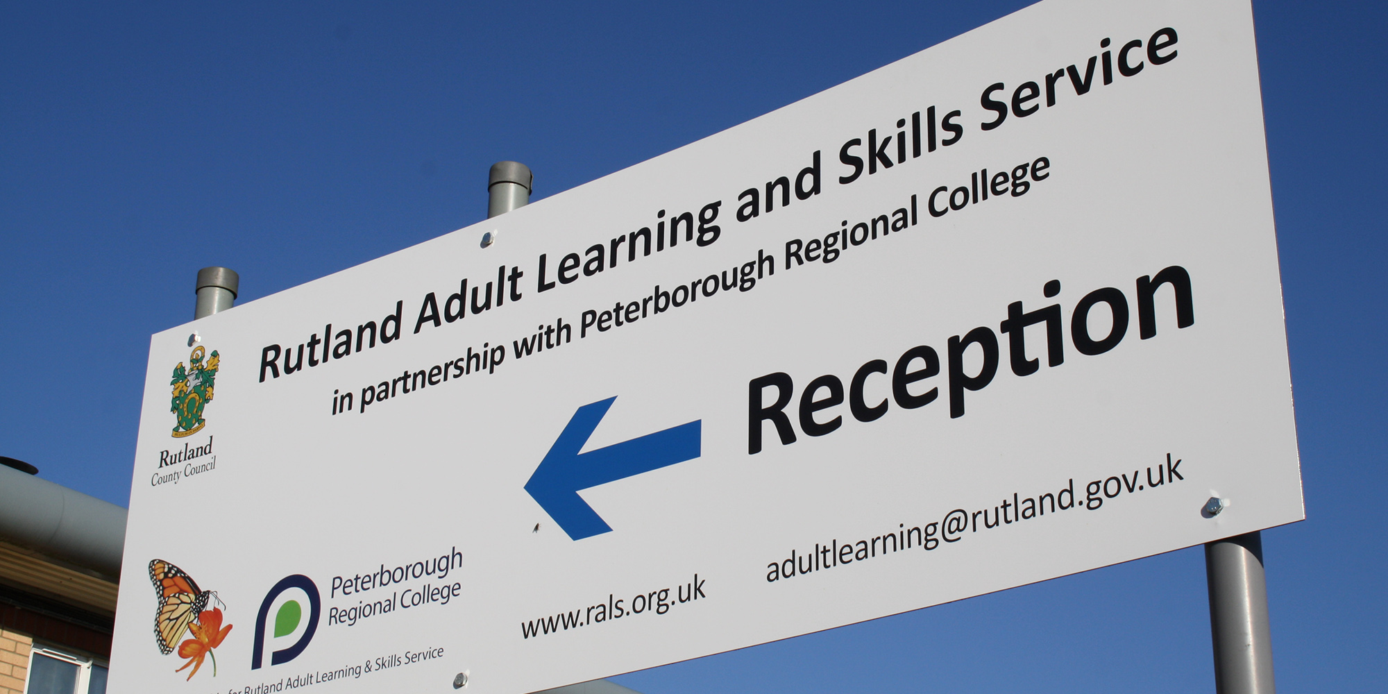 Rutland Adult Learning and Skills Service banner